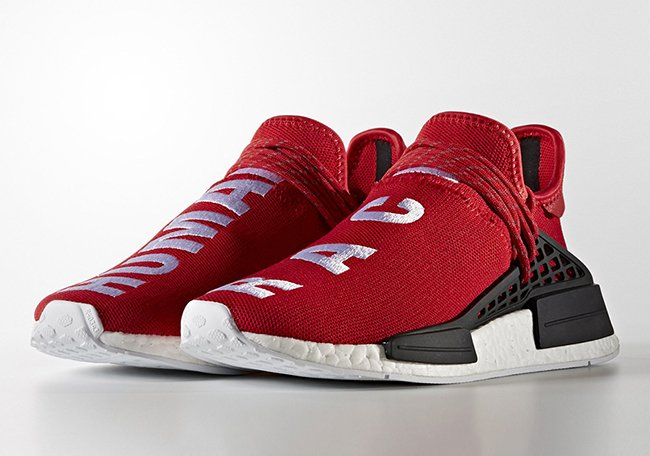 outlet store 9d29c eed64 Pharrell x adidas NMD Human Race Red | SneakerFiles