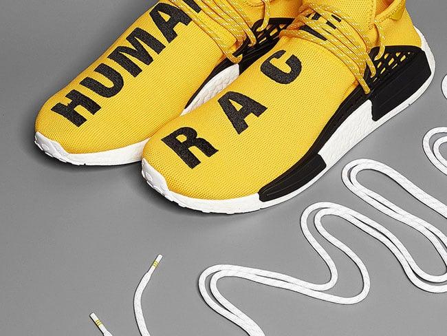 Pharrell adidas NMD Human Race Yellow Release