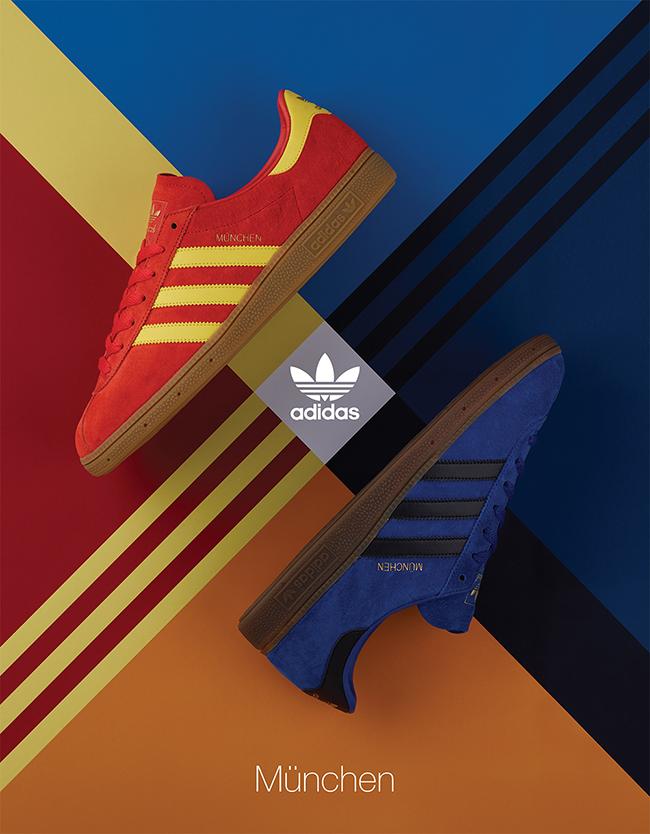 size? Exclusive x adidas Originals Archive Munchen Pack