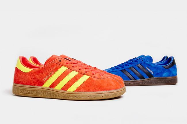 Mierda Suelto Desmantelar  size? Exclusive x adidas Originals Archive Munchen Pack | SneakerFiles