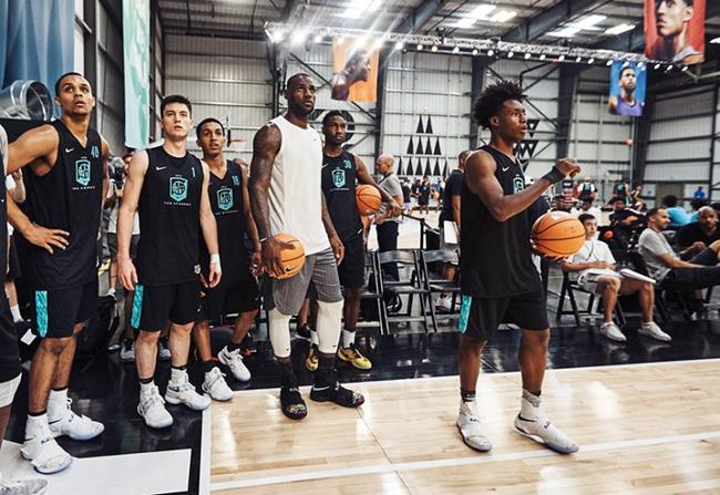 The Academy Nike LeBron Soldier 10 Alternate Black