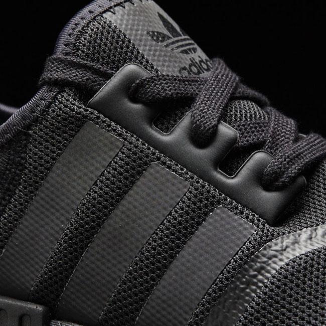 Triple Black adidas NMD Mesh