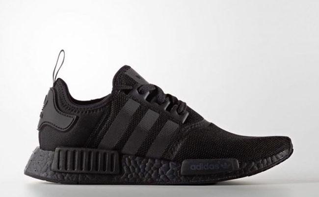 adidas nmd all black