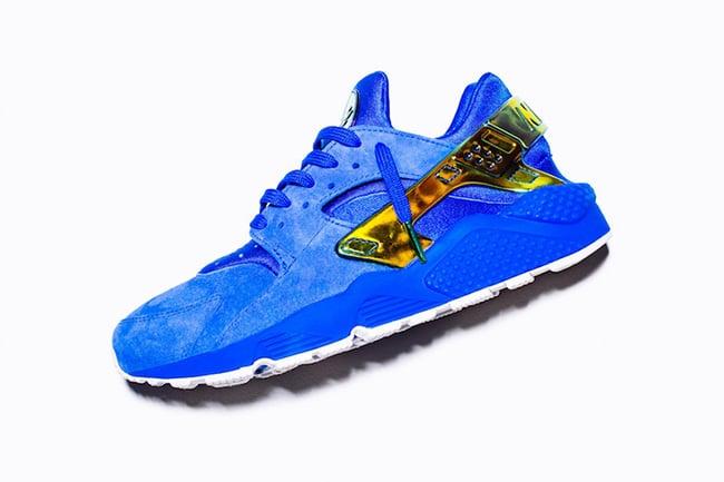 91057391e2dd5 sweden undefeated nike air huarache la blue suede 00397 59f76
