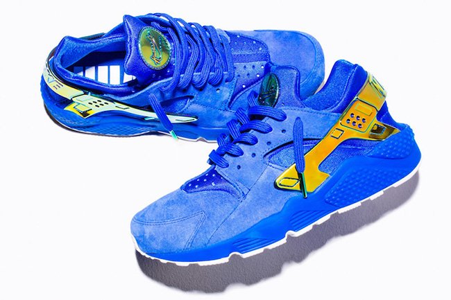 ... sweden undefeated nike air huarache la blue suede 4e996 d90f0 271728e50
