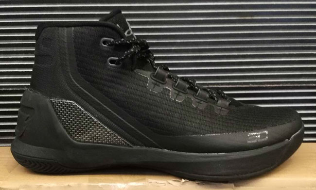 Under Armour Curry 3 Black