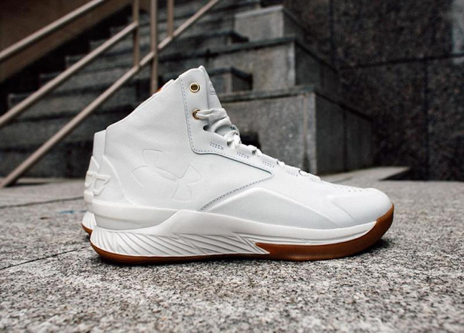 Under Armour Curry Lux White Gum