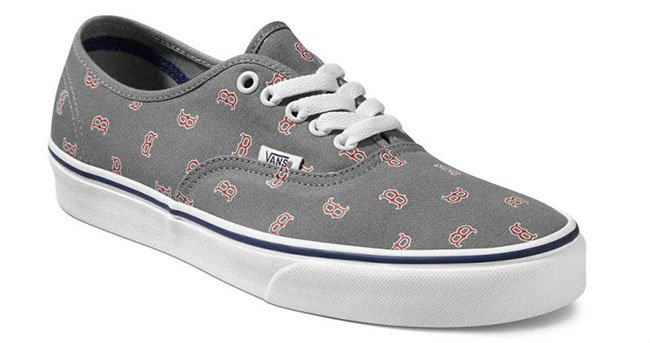 Vans Authentic Boston Red Sox