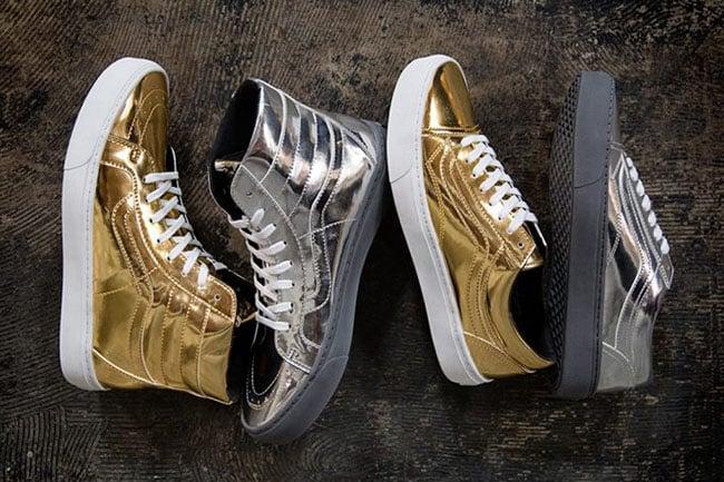 b54d3c64 Vans Metallic Olympics 2016 Pack | SneakerFiles