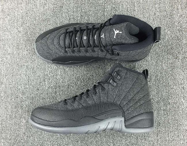 Wool Air Jordan 12 2016