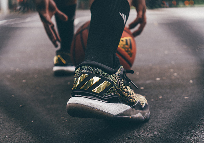 adidas Crazylight Boost 2016 Harden Black Gold