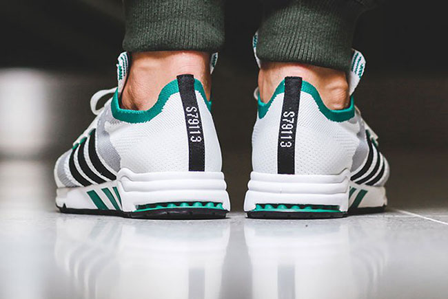 save off 5af4b 74149 adidas EQT Cushion Primeknit Sub Green