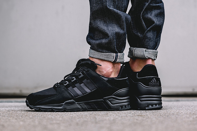 adidas EQT Running Support 93 Triple Black