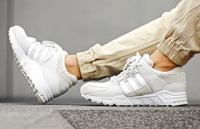 adidas eqt running support white