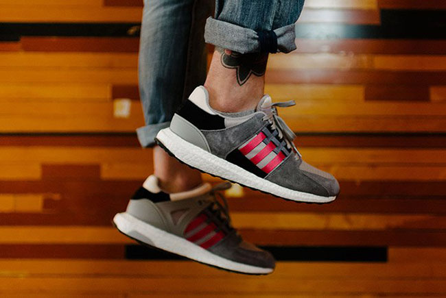 adidas EQT Support 93 16 Boost Grey Red