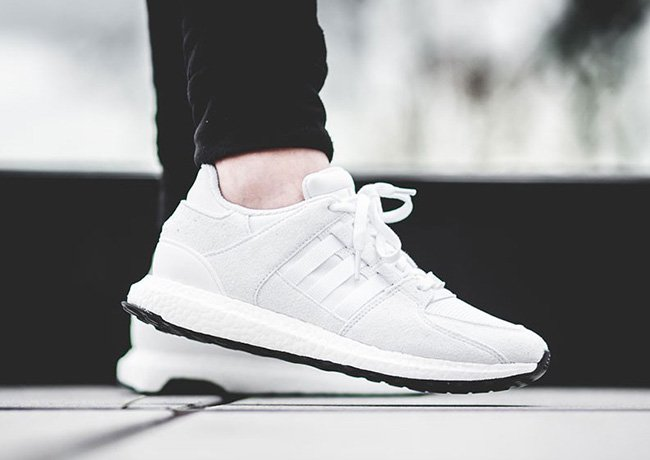 new style 426f8 69998 UNBOXING Adidas EQT Support ADV Triple White BA8322