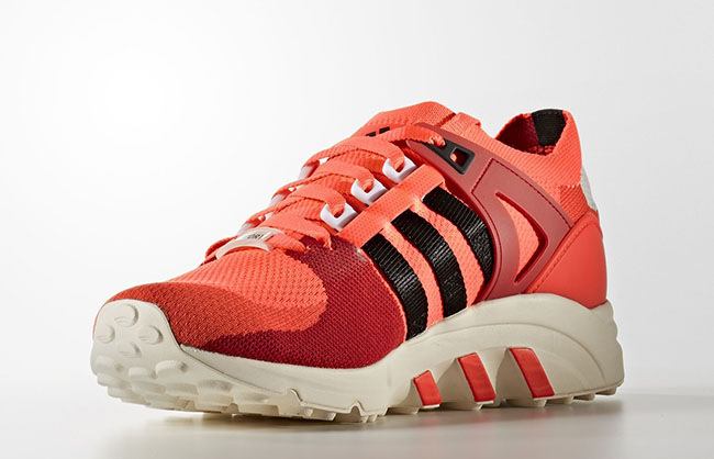adidas Equipment Support Primeknit Solar Red