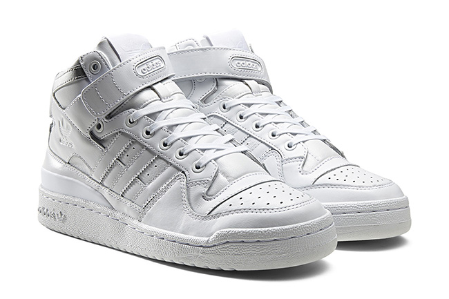 adidas Forum Mid Refined Metallic Silver Pack