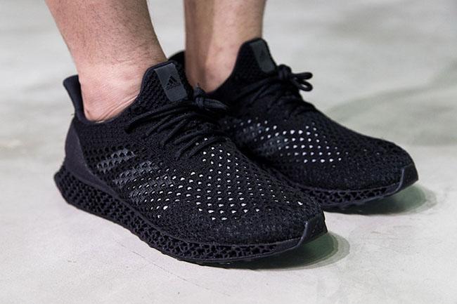 adidas futurecraft 3d triple black sneakerfiles