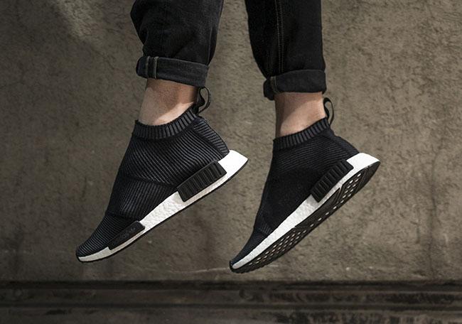 adidas NMD City Sock Core Black On Feet