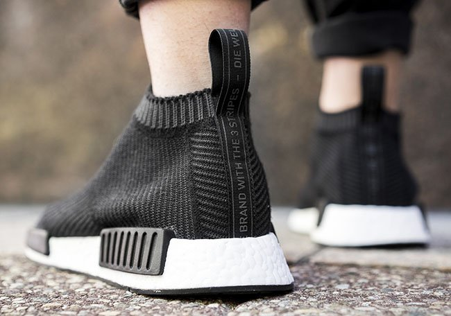 2f4d91989 adidas NMD City Sock Core Black On Feet