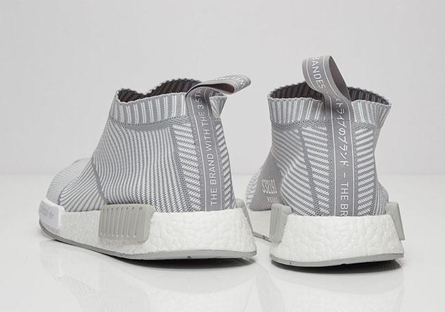 adidas NMD City Sock Light Grey White