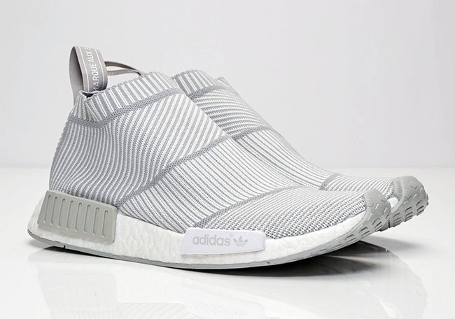 competitive price e70b3 54bbf adidas NMD City Sock Light Grey White | SneakerFiles