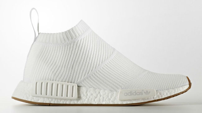 Nmd White Gum City Sock {PK Soft}