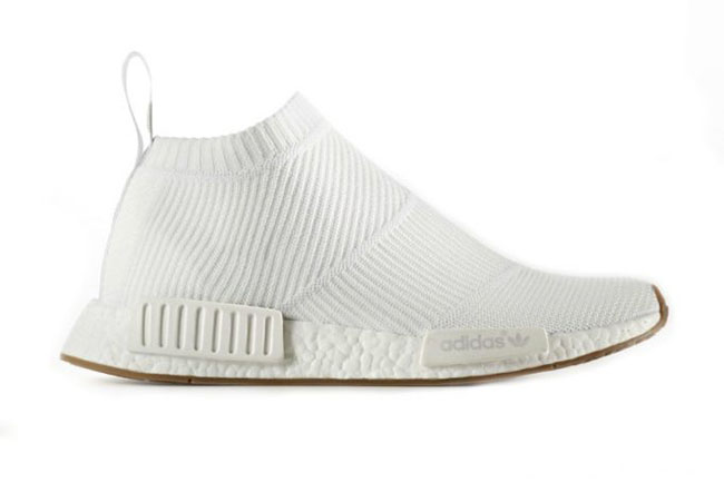 separation shoes 2f039 d5fff adidas NMD City Sock White Gum | SneakerFiles