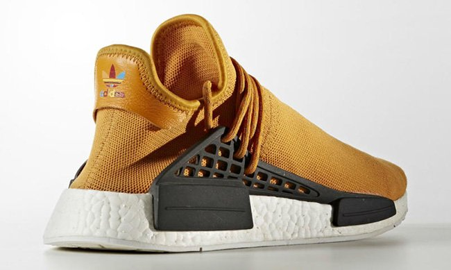 adidas NMD Human Race Tangerine Orange
