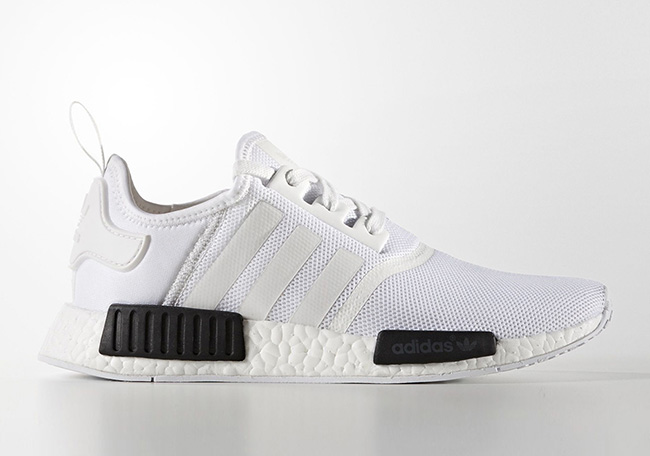 adidas NMD Mens BB1968 White Black