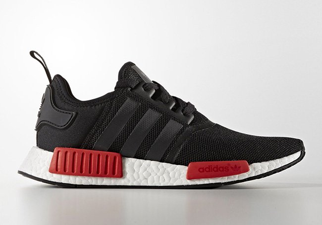adidas NMD Mens BB1969 Black Red