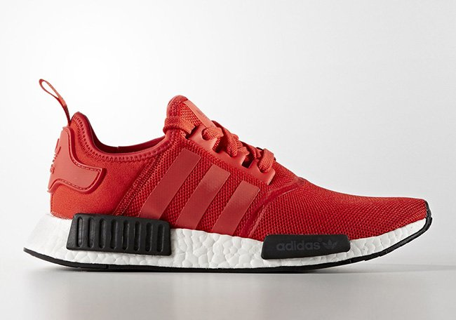 adidas NMD Mens BB1970 Red Black