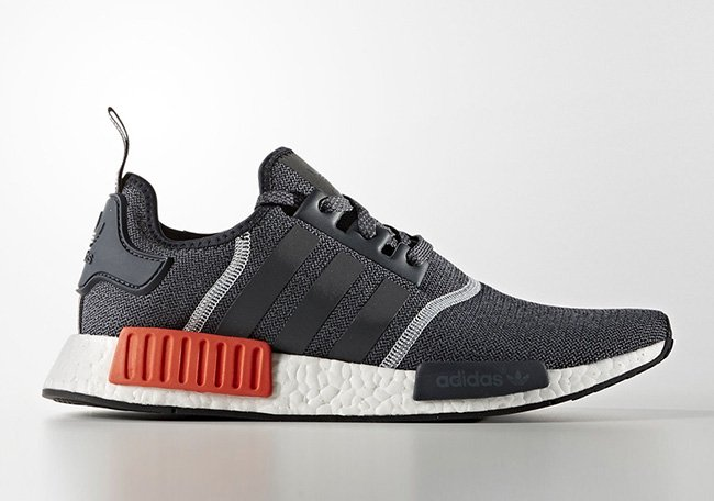 adidas NMD Mens S31510 Grey Black Red