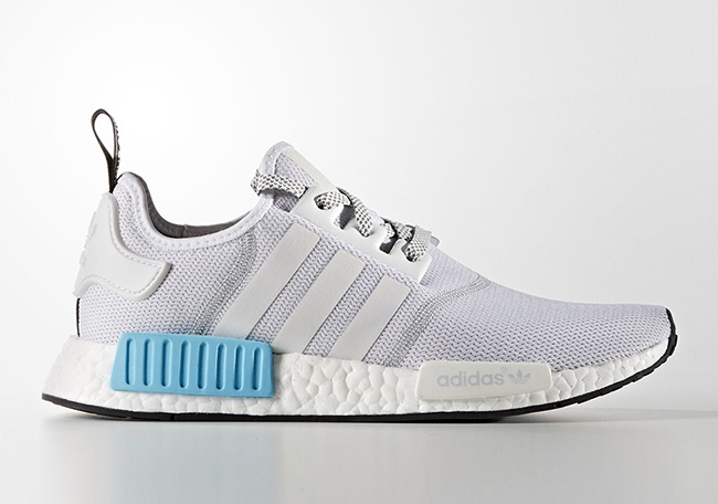 adidas NMD Mens S31511 White Blue