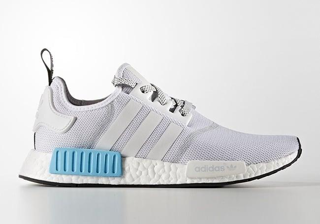 adidas NMD Mens S31511 White Blue