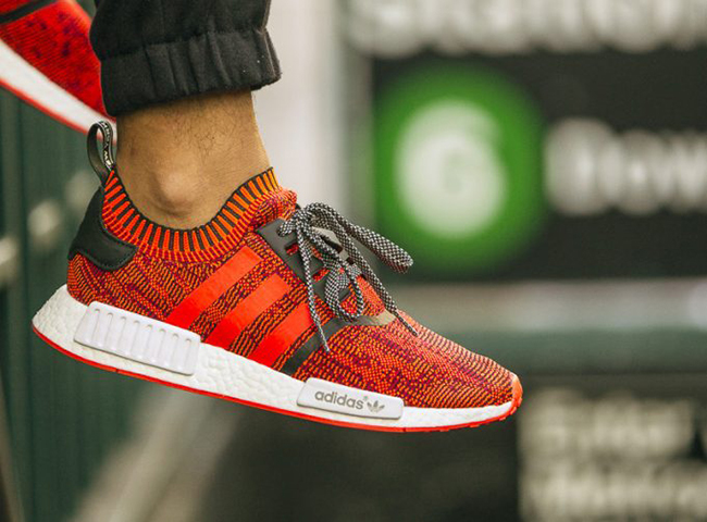 size 40 468f4 a1432 adidas NMD PK Red Apple