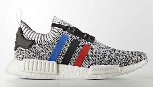 various colors bcf0e 0782c Adidas NMD R1 Primeknit Grey Black Mottled Review from Topkickss