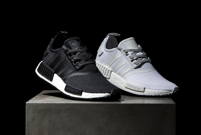 adidas NMD R1 Reflective Black White Pack