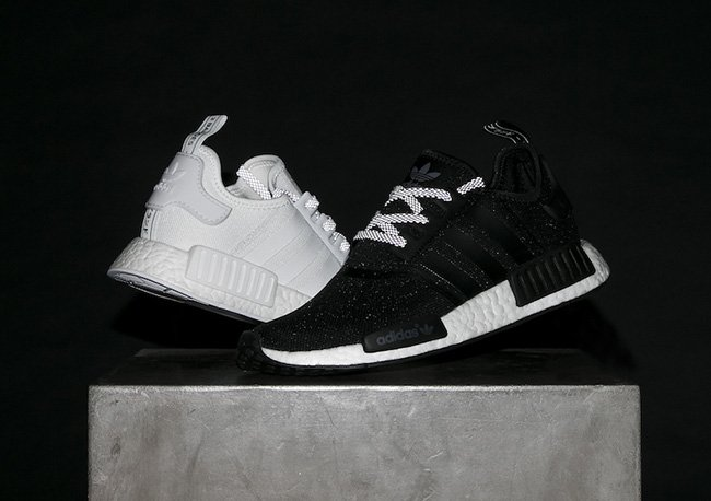 23f309dd6 adidas NMD R1 Reflective Black White Pack