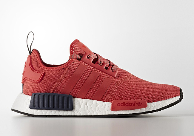 adidas NMD Womens S76013 Red Black