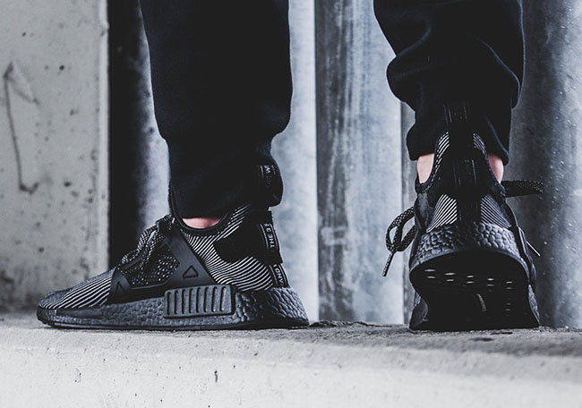 adidas NMD XR1 Core Black On Feet