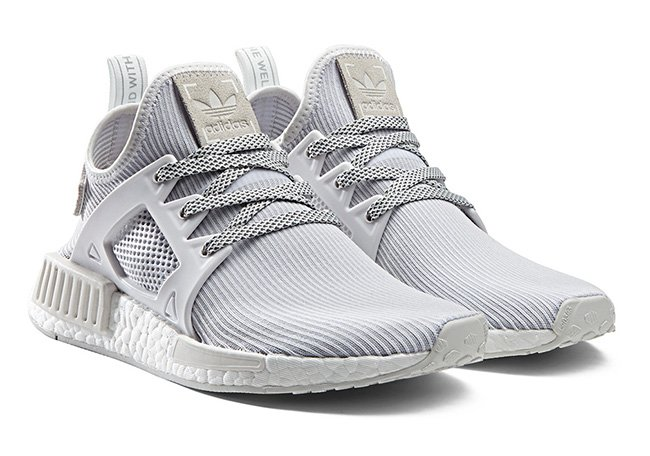 adidas nmd xr1 womens triple white sneakerfiles. Black Bedroom Furniture Sets. Home Design Ideas