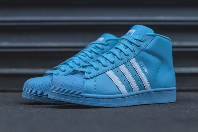 Adidas Pro Model Baby Blue Sneakerfiles