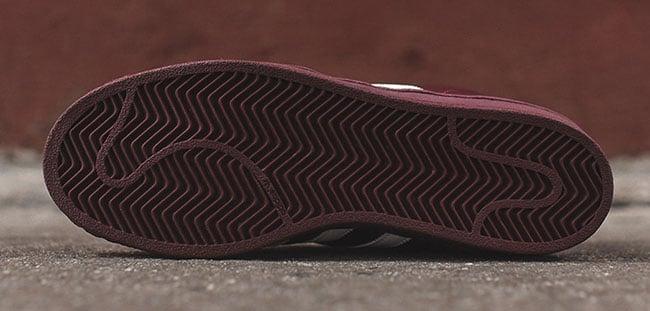 adidas Pro Model Burgundy