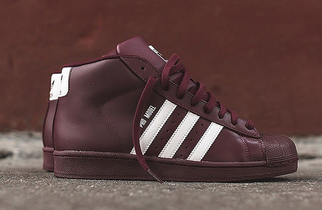 adidas superstar high top burgundy