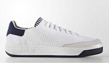 adidas Rod Laver Primeknit White Navy
