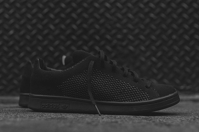 adidas Stan Smith Primeknit Triple Black  2874e3330