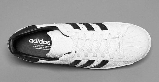 adidas Superstar 80s Scales White Black
