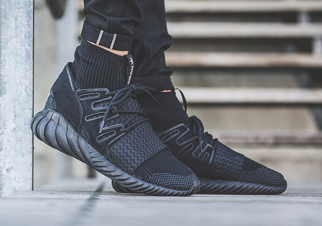 Adidas Tubular Doom Grey On Feet